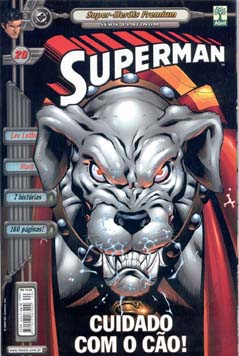 SUPERMAN PREMIUM n°20 - EDITORA ABRIL